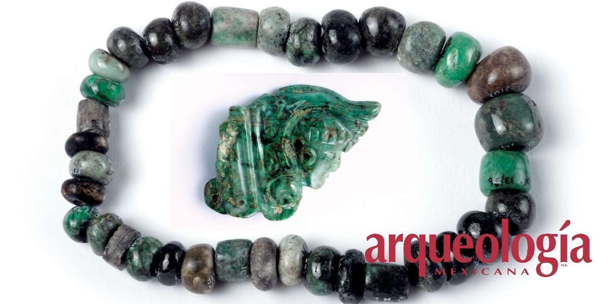 Objetos mayas de jadeíta en el Templo Mayor de Tenochtitlan