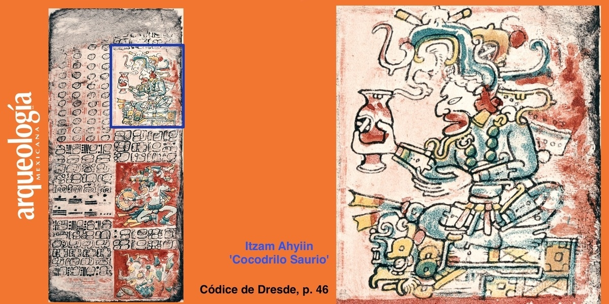 Itzam Ahyiin, 'Cocodrilo Saurio'