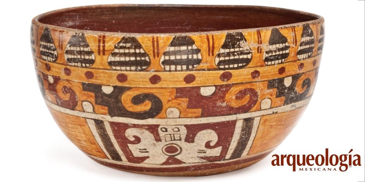 La loza en que comía Moctezuma