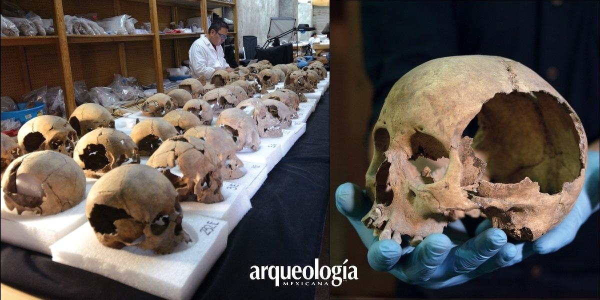 El Huei Tzompantli de Tenochtitlan