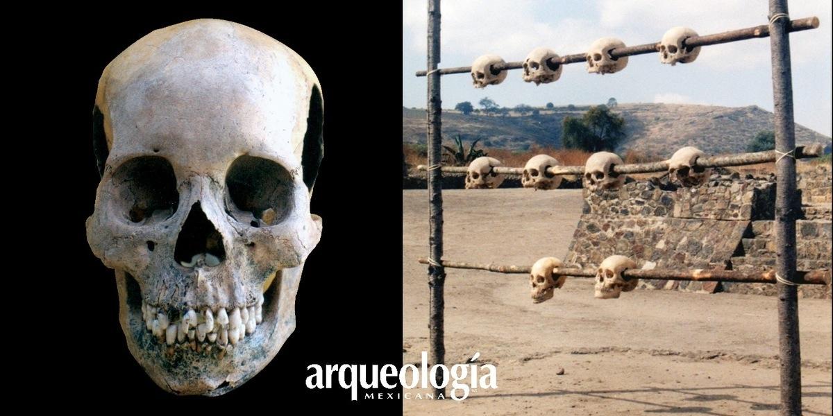El tzompantli en Zultépec-Tecoaque