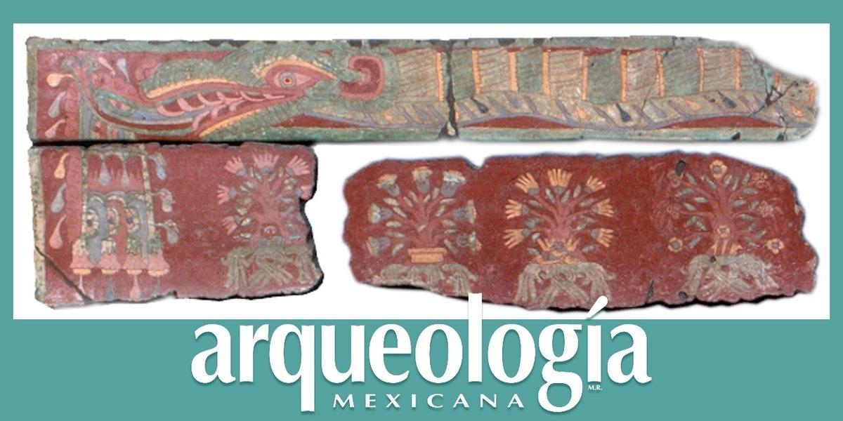 Las serpientes emplumadas de Techinantitla, Teotihuacan