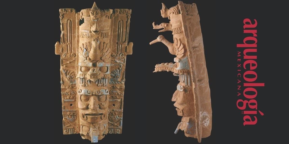 Portaincensario del dios GI Palenque, Chiapas