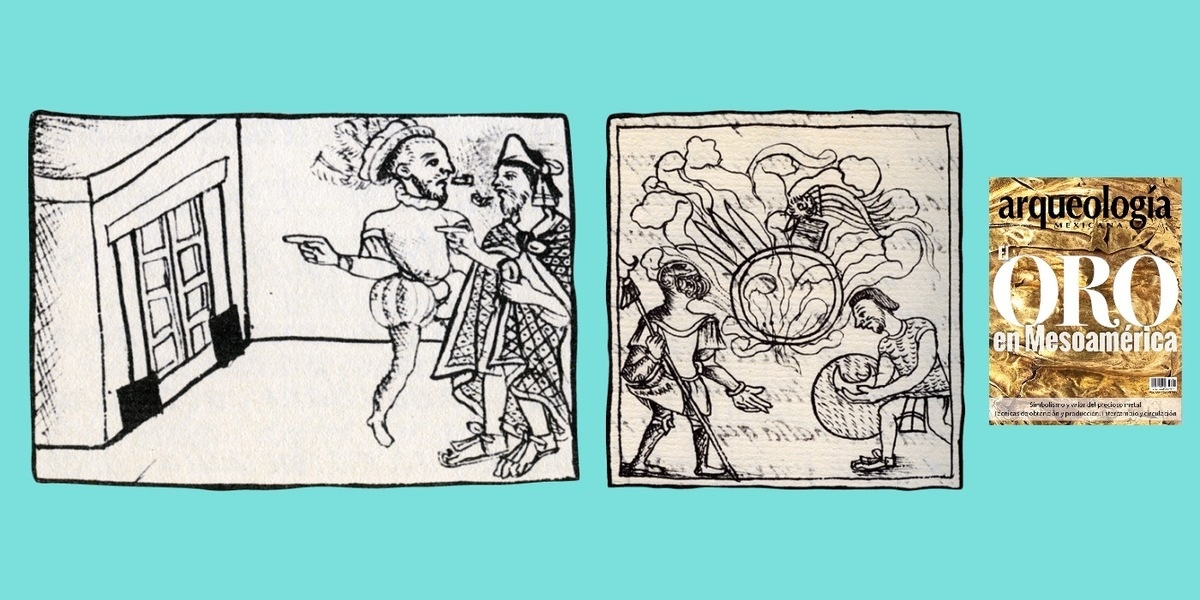 El oro de las ofrendas y las sepulturas del Recinto Sagrado de Tenochtitlan