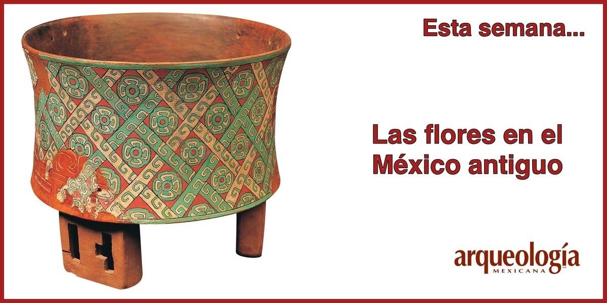 Las flores en el México antiguo