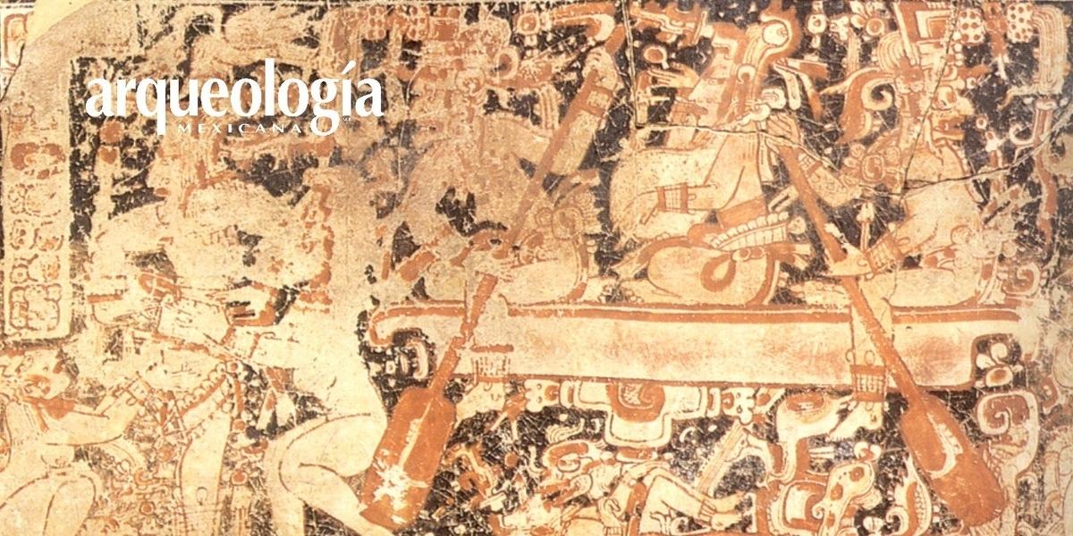 La navegación maya