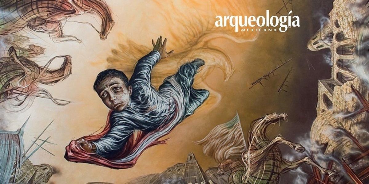 De la Conquista a la Revolución en los muros del Museo Nacional de Historia