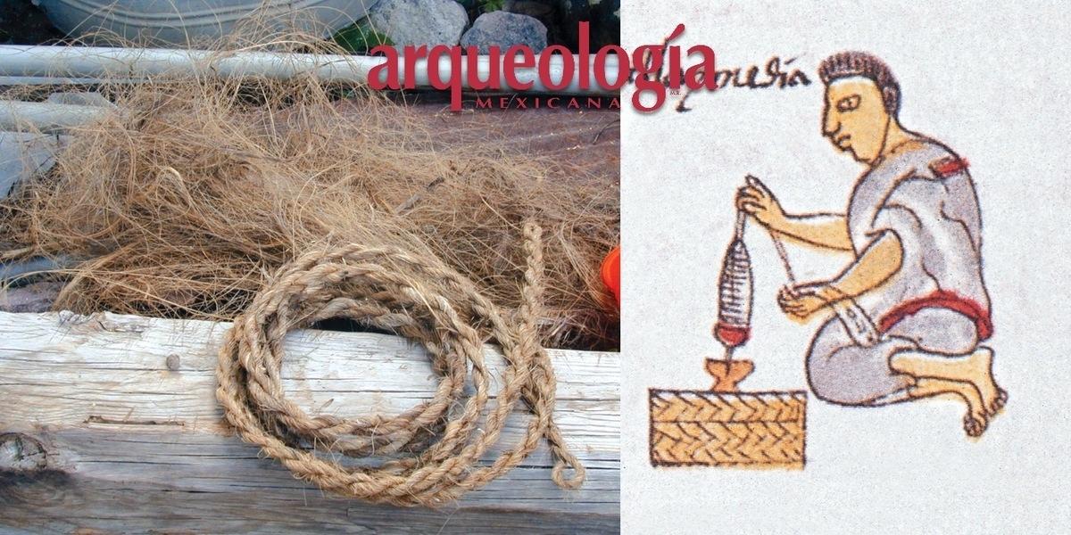 Artesanías hechas con maguey y otras plantas xerófitas en Oaxaca