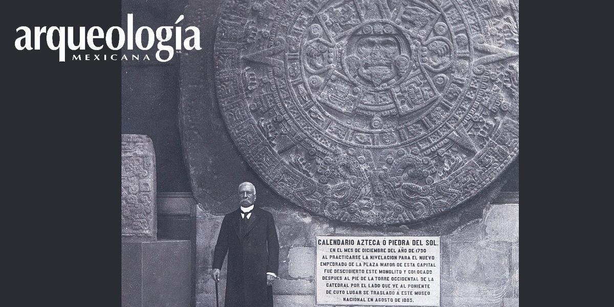El presidente Porfirio Díaz y Piedra del Sol