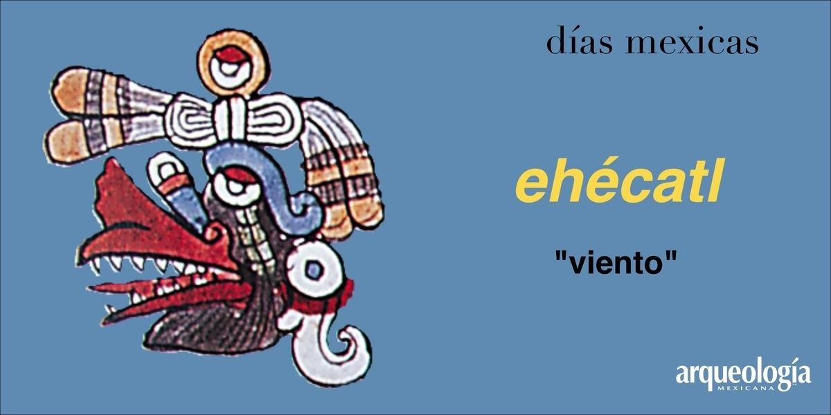 ehécatl (viento) | Arqueología Mexicana