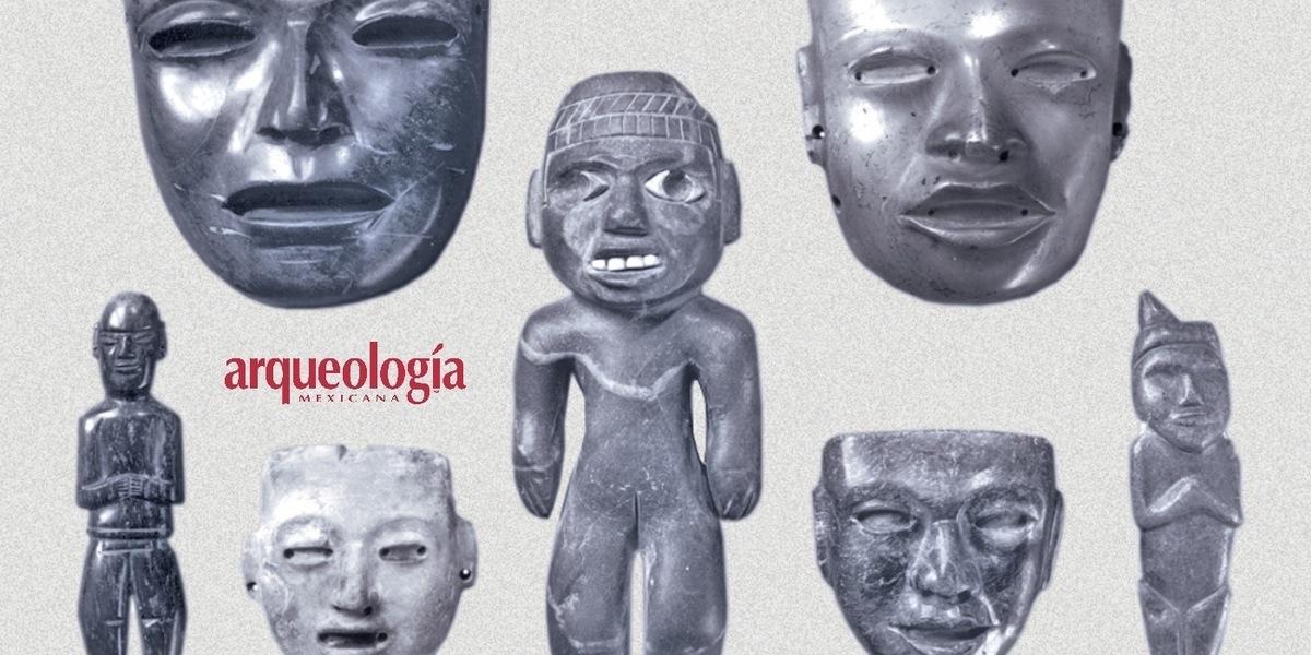 Máscaras teotihuacanas. De Teotihuacan a Filadelfia en 1830