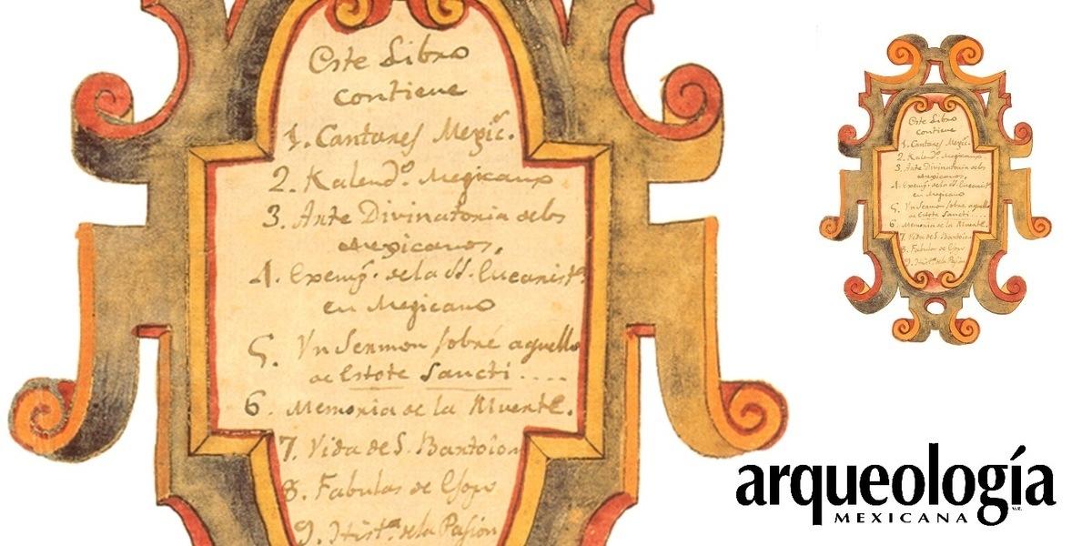 Poesía de Nezahualcóyotl | Arqueología Mexicana