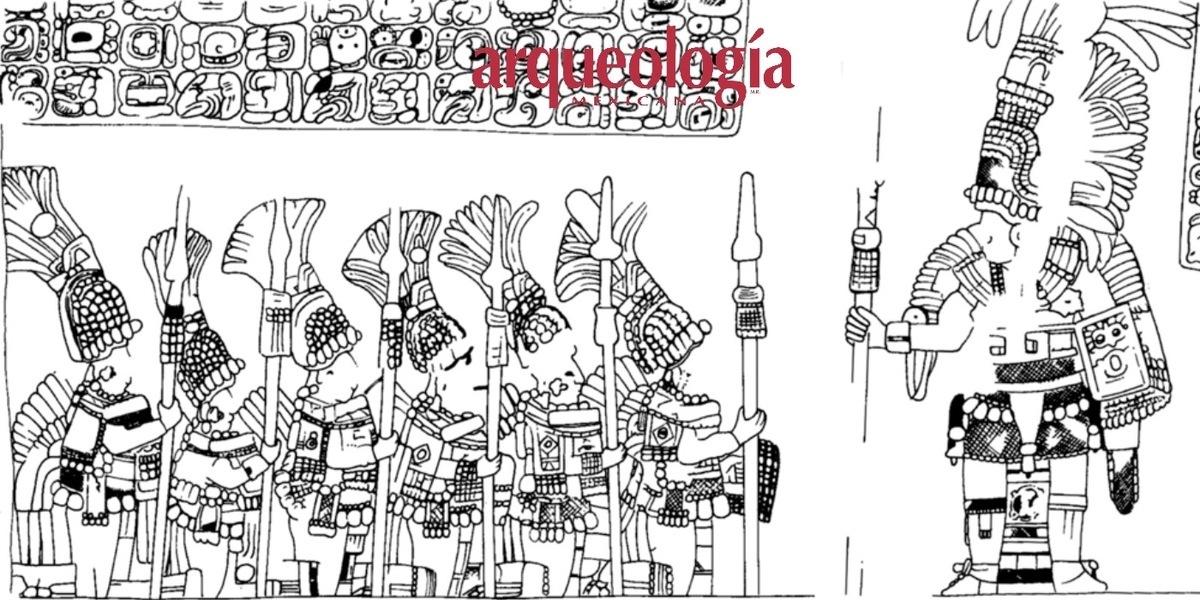 Armamento y organización militar de los mayas