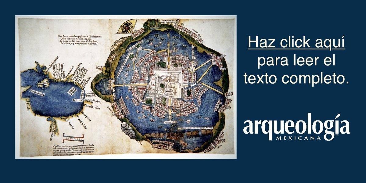 ¿Había un mercado frente al palacio de Moctezuma?
