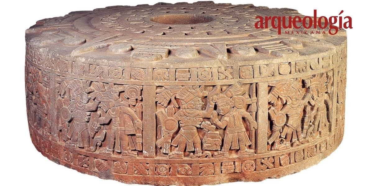 Conquistas de los mexicas en la Piedra de Moctezuma I