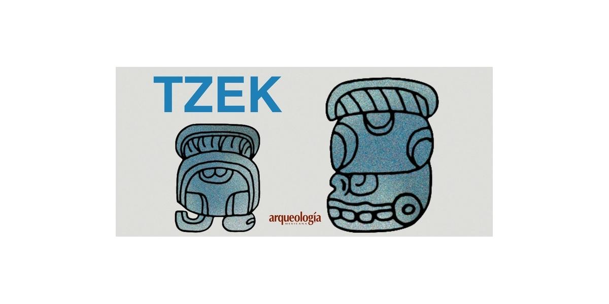 Veintenas mayas: TZEK