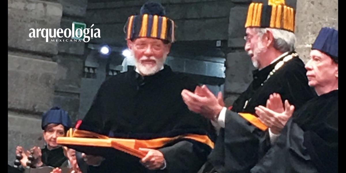 La UNAM otorga el Doctorado Honoris Causa a Eduardo Matos Moctezuma