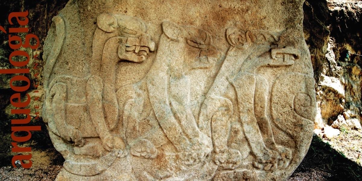 La Triada de los Felinos en Chalcatzingo, Morelos