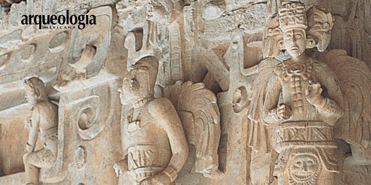 Fachada del templo superior de la Acrópolis, Ek' Balam