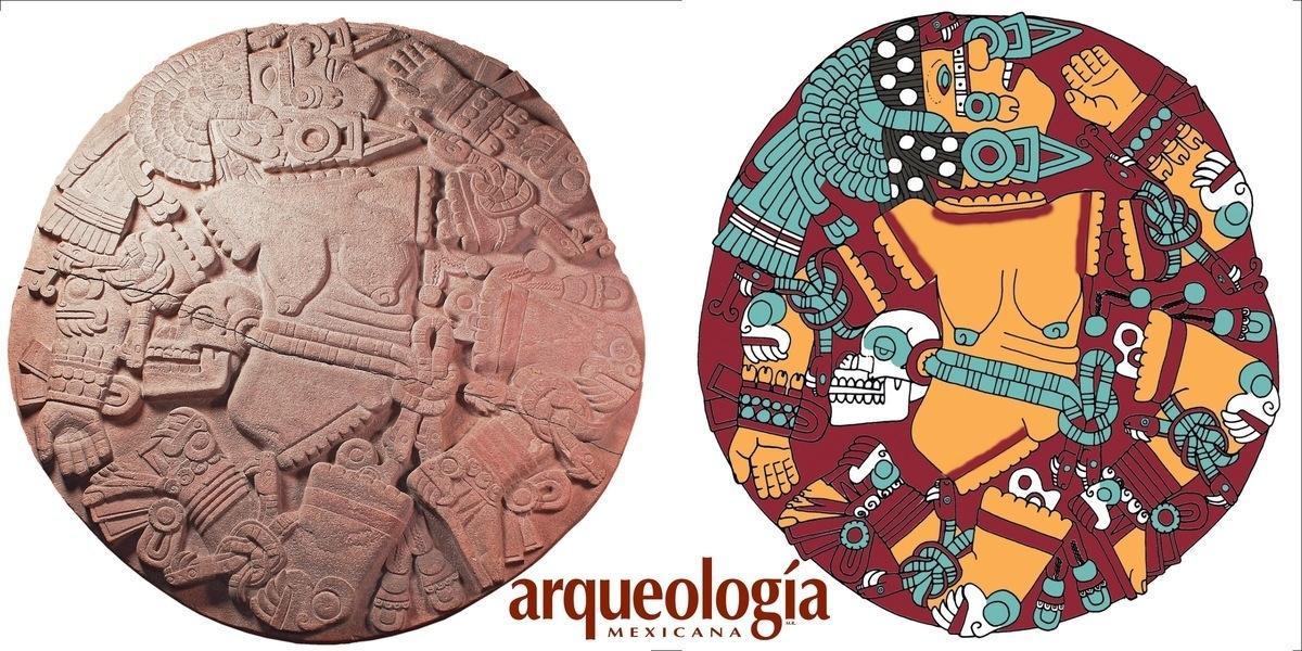 Una escultura grandiosa, la diosa mexica de la Luna