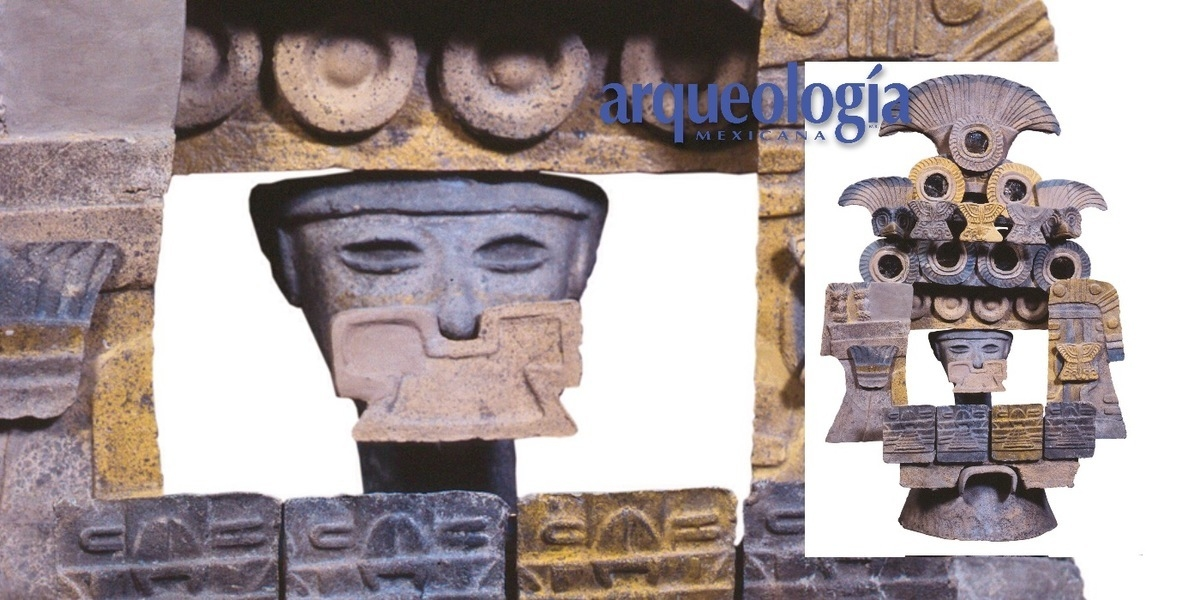 Rostros simbólicos teotihuacanos