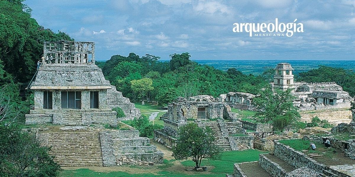La arquitectura y la traza urbana de Palenque