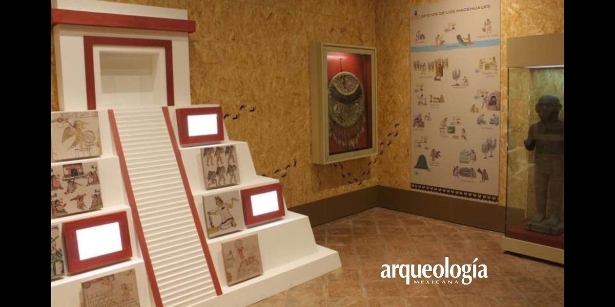 Exposición sobre el pasado prehispánico de Churubusco