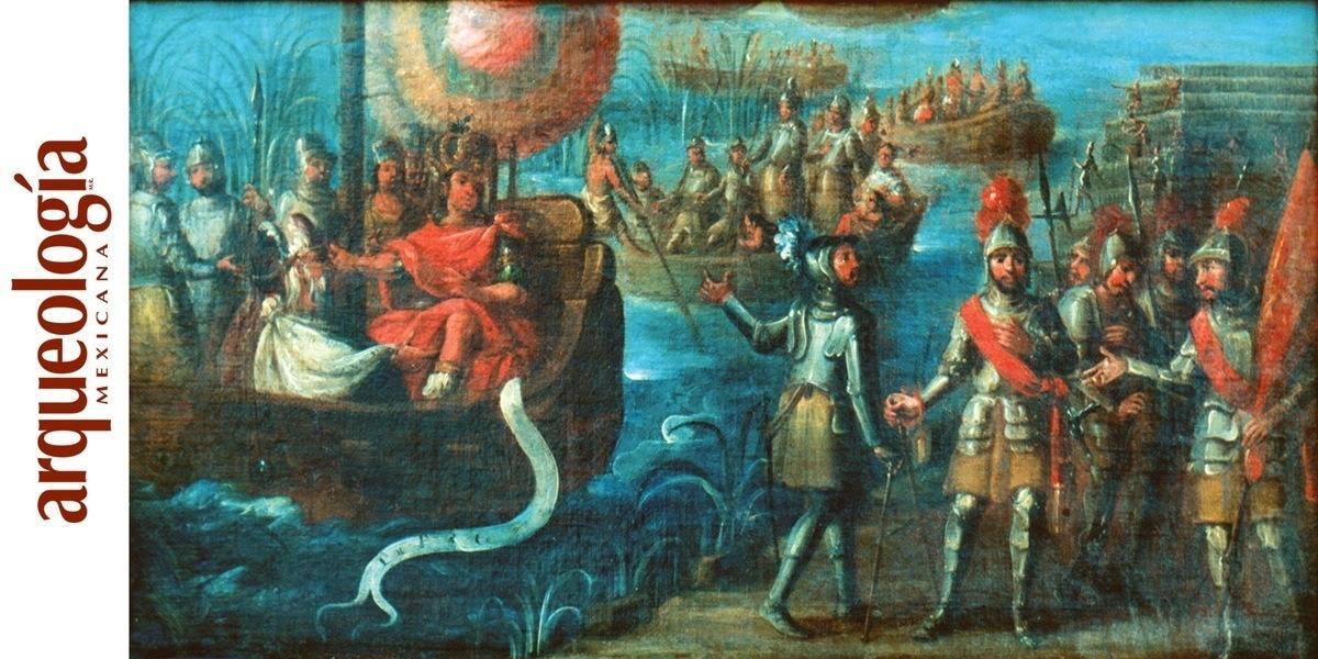 Captura de Cuauhtémoc y caída de Tenochtitlan