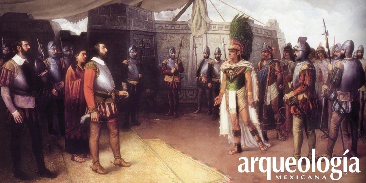 """Cuauhtémoc, """"Sol que desciende"""" (1520-1521)"""