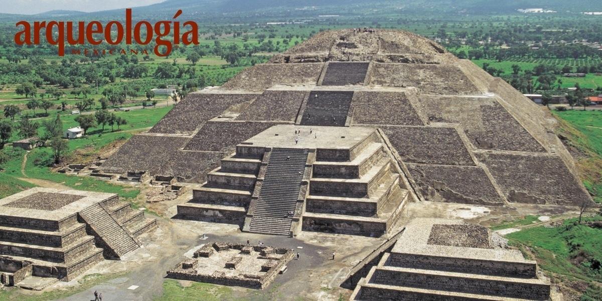 La Pirmide de la Luna Teotihuacan Estado de Mxico