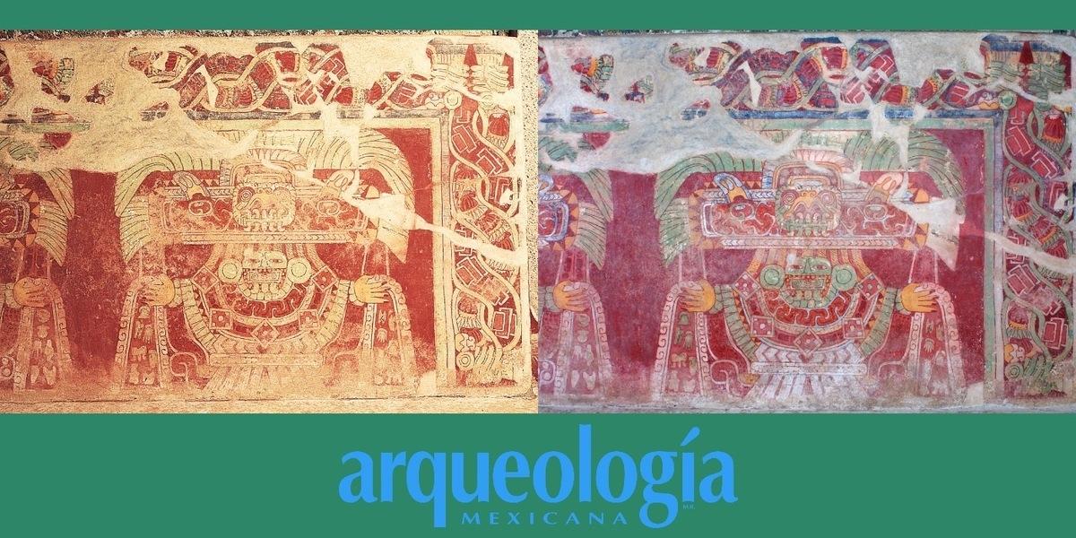 Diosa de jade o Tláloc Verde. Teotihuacan