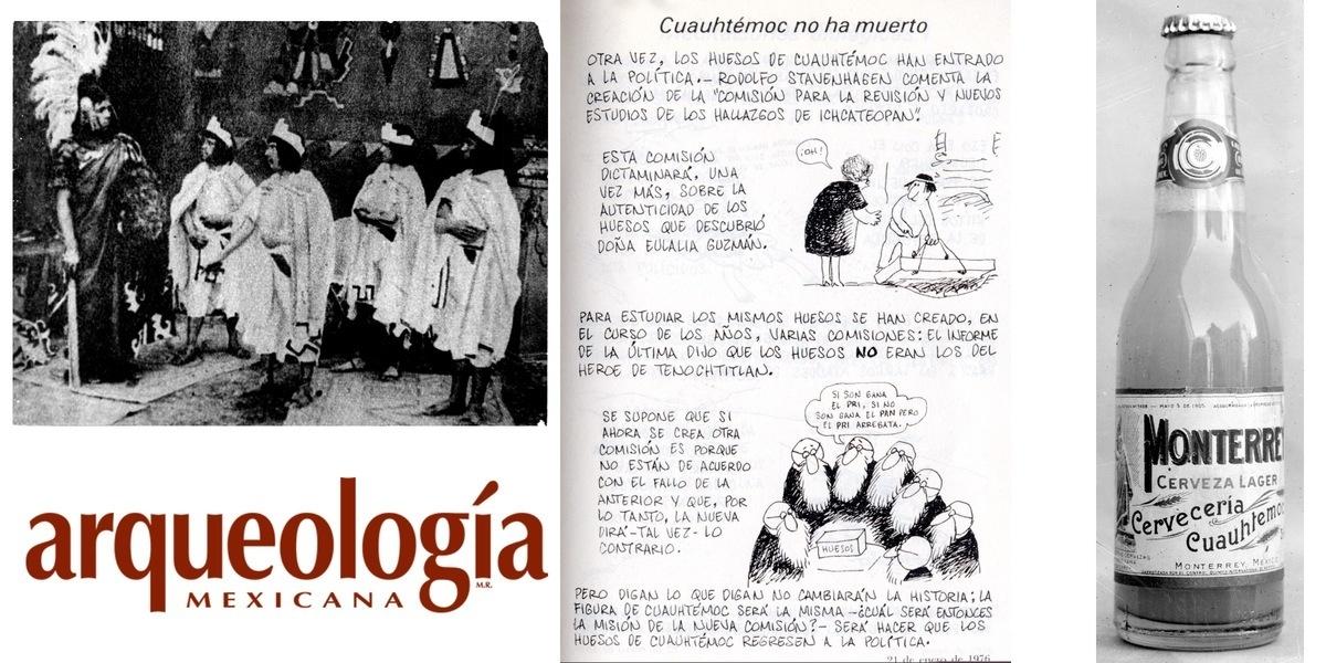 Cuauhtémoc en el imaginario mexicano