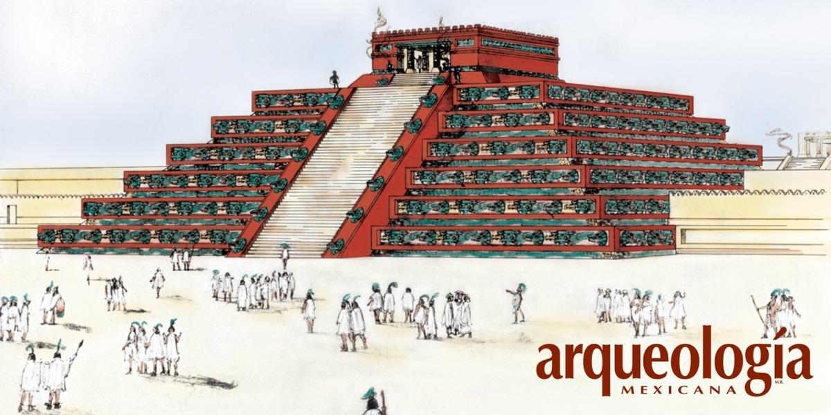 El Templo de Quetzalcóatl, Teotihuacan, Estado de México