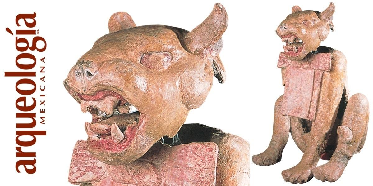 Esculturas de animales de Xochicalco, Morelos
