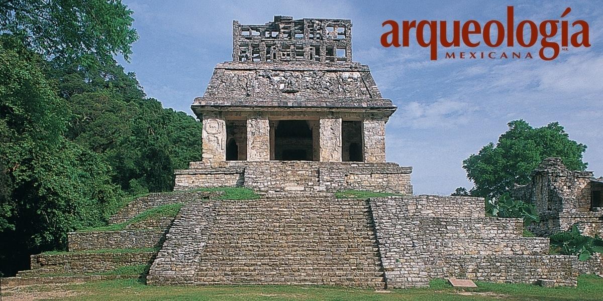 El Tablero del Sol, Templo del Sol, Palenque, Chiapas
