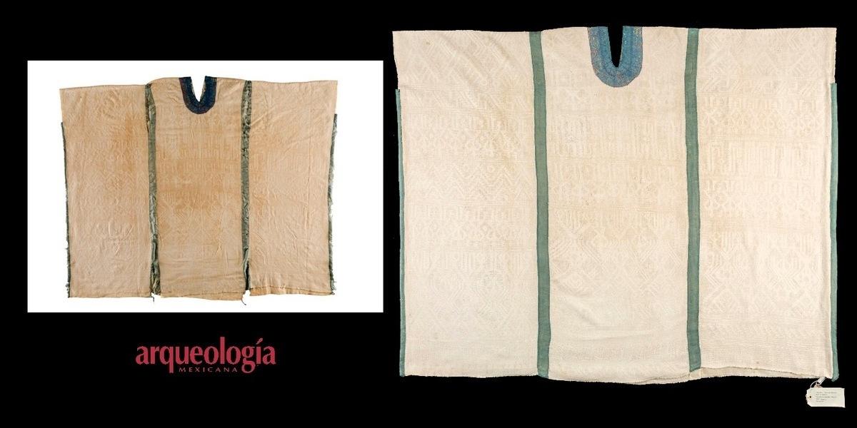 Restauran huipiles mixtecos del Fondo Reservado del Museo Nacional de Antropología