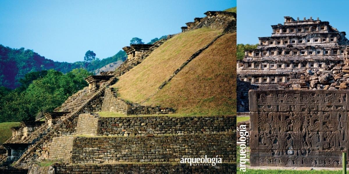 El trazo urbano y la arquitectura de Tajín, Veracruz