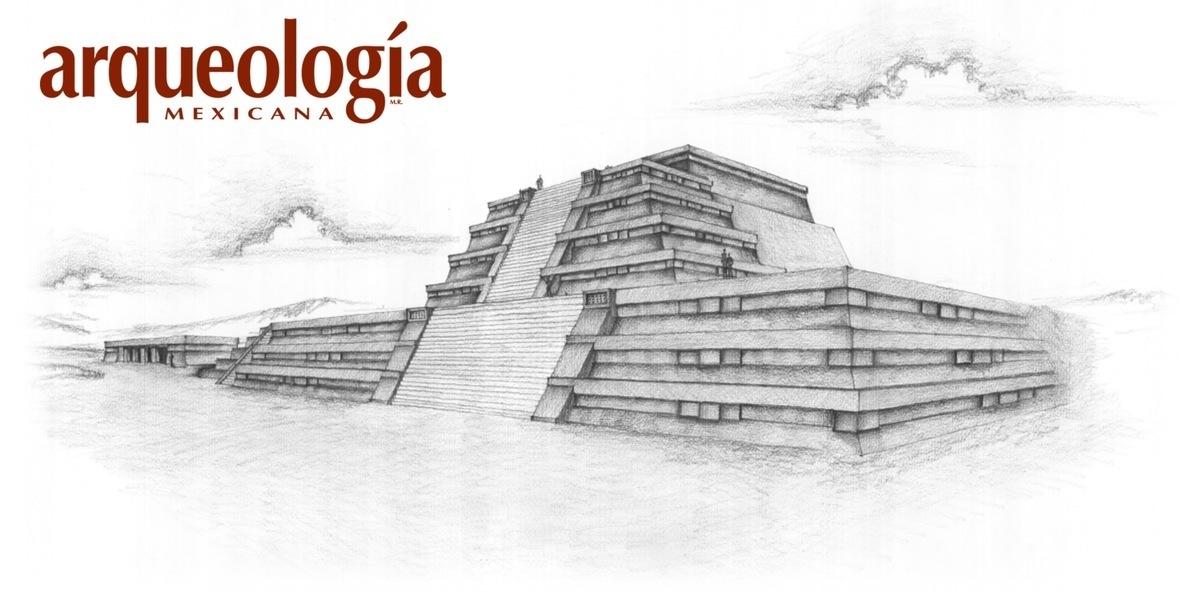 La Gran Pirámide, Xochicalco, Morelos