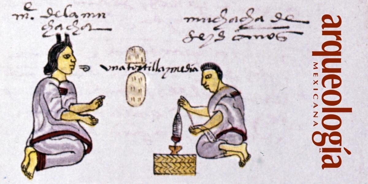El hilado y el tejido en la época prehispánica