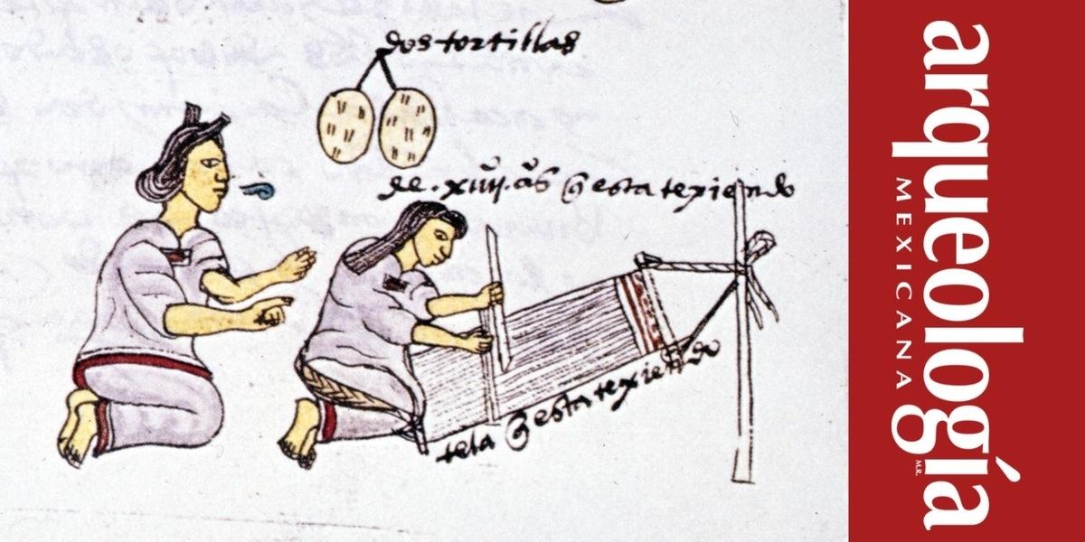 El hilado y el tejido en la época prehispánica | Arqueología Mexicana