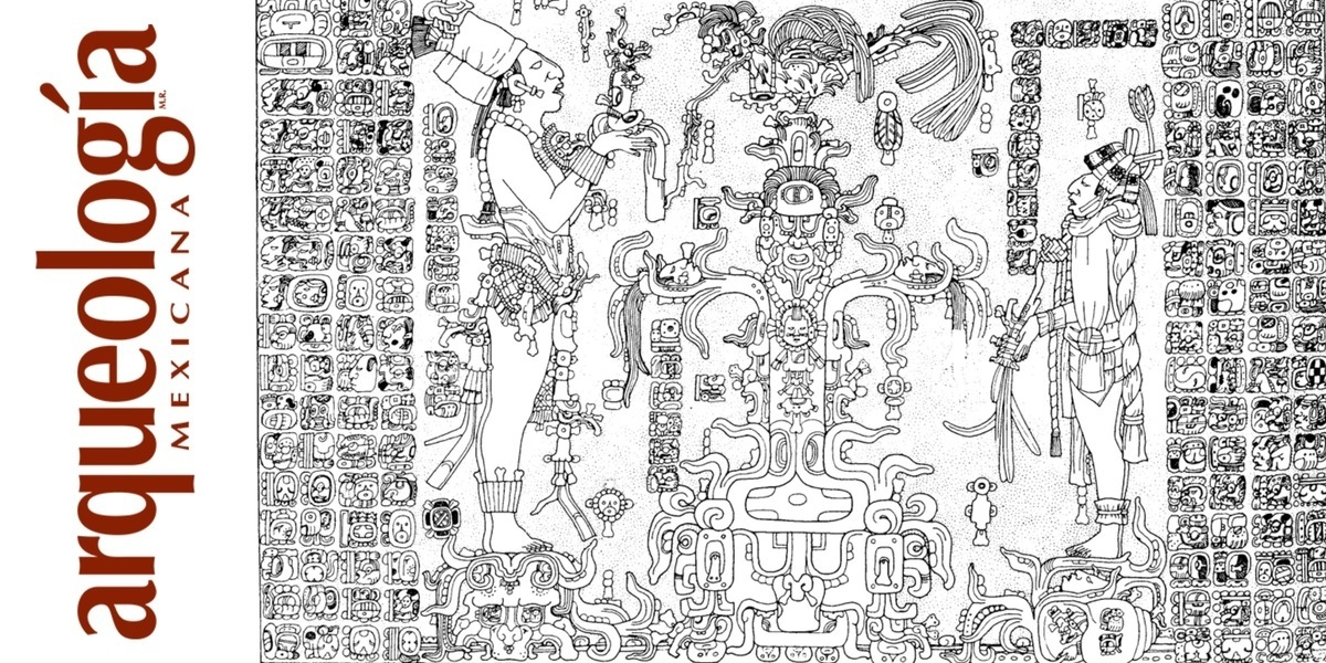 Tablero de la Cruz Foliada, Templo de la Cruz Foliada, Palenque, Chiapas
