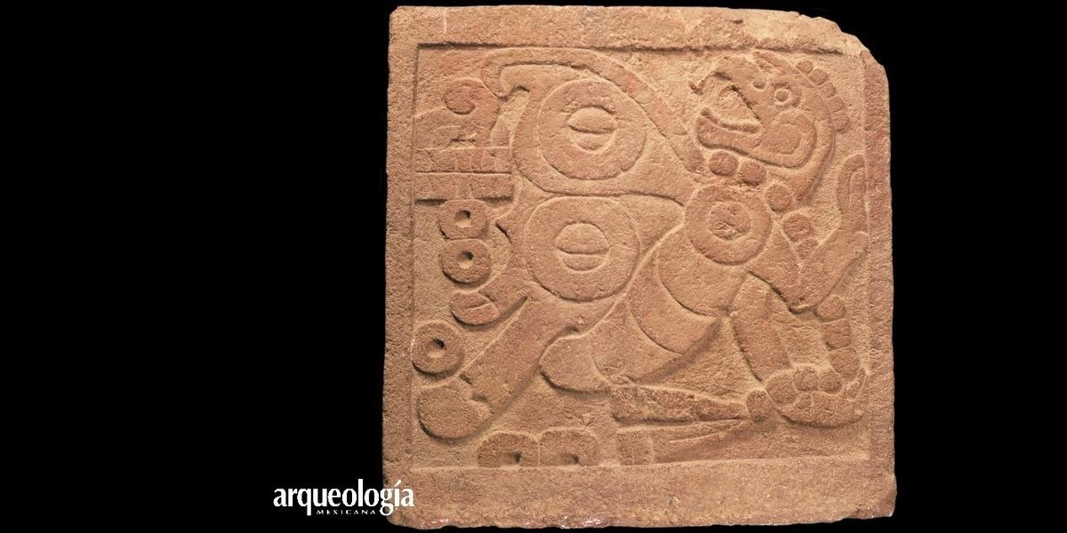 La lápida de Itzpapálotl. Obra de arte matlatzinca