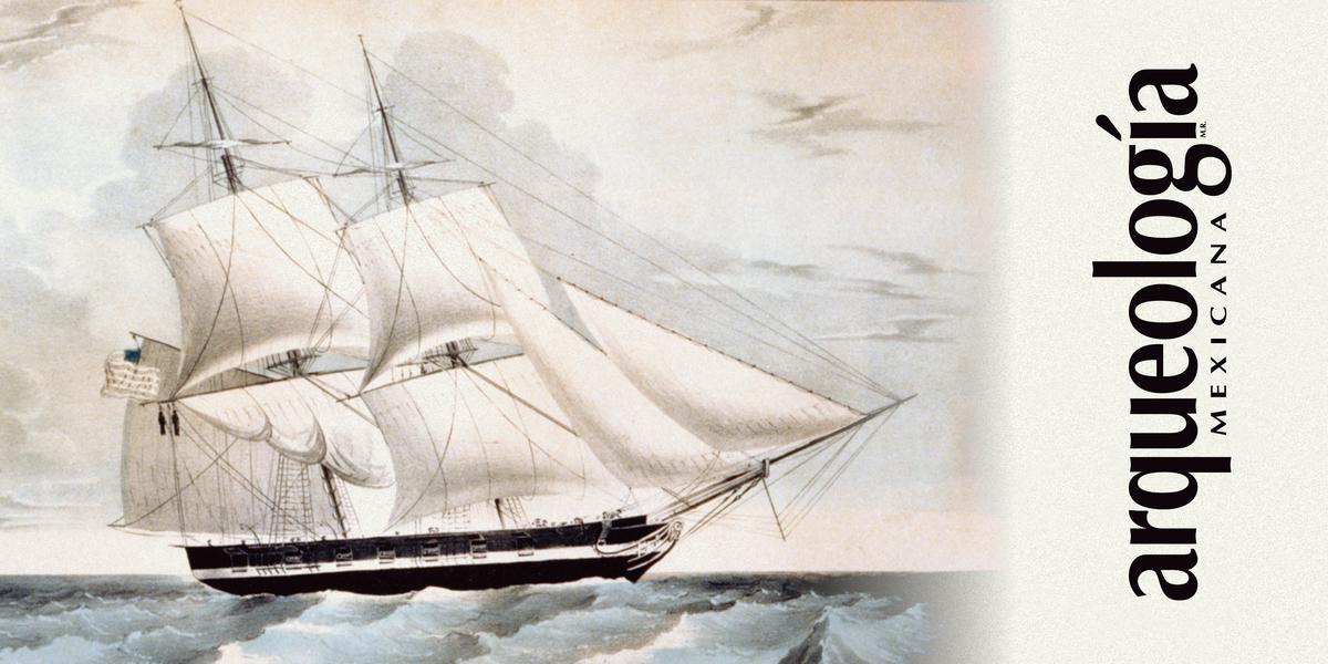 El brig U.S.S. Somers