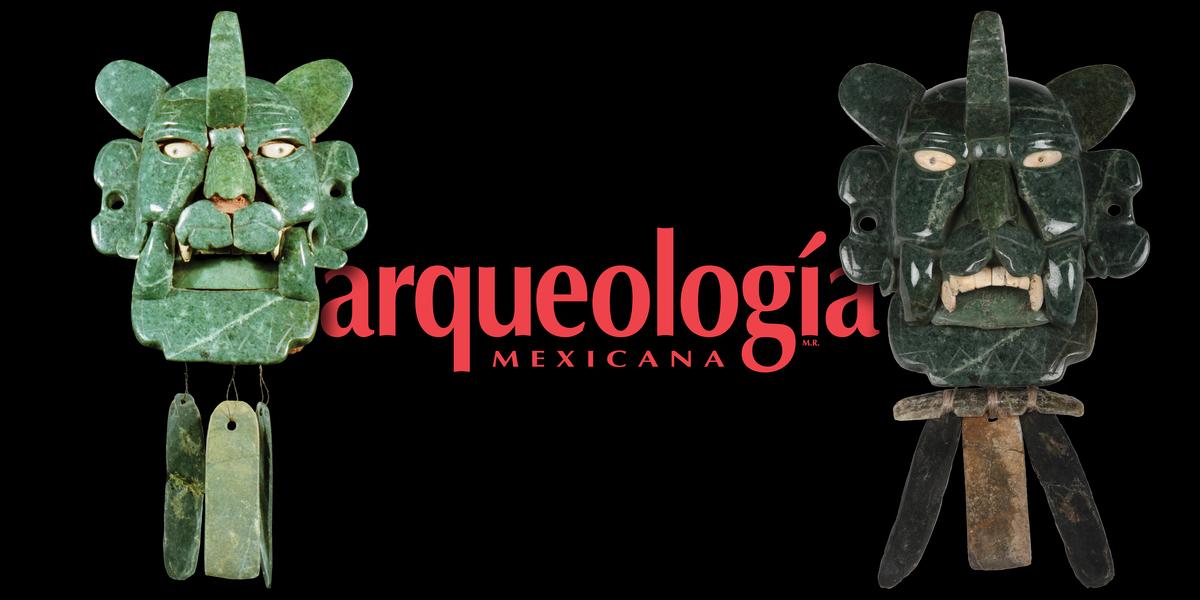 """La restauración del pectoral o """"máscara"""" de murciélago del Museo Nacional de Antropología"""