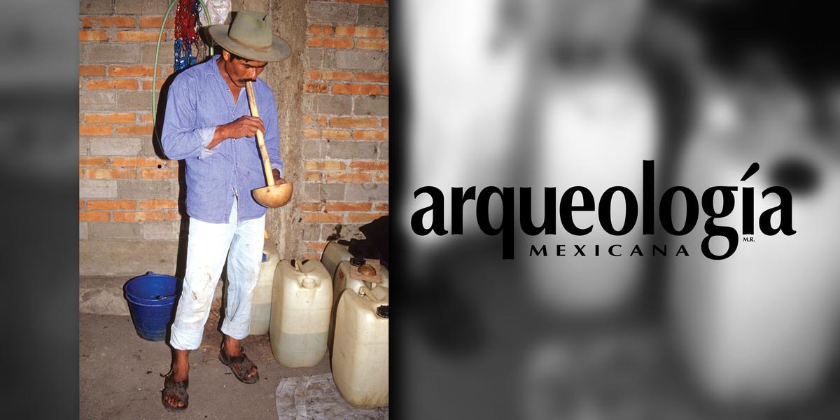 El mezcal en Xochitécatl-Cacaxtla, Tlaxcala