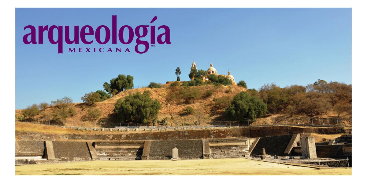 El Patio de los Altares en la Gran Pirámide de Cholula. La violenta destrucción de los iconos