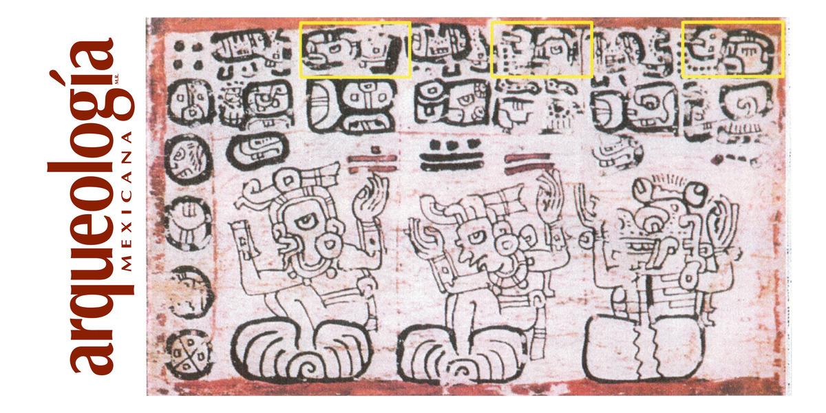 El tiempo mítico en los códices mayas