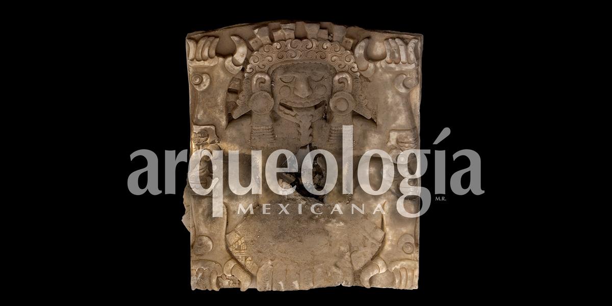 La diosa Tlaltecuhtli de la Casa de las Ajaracas y el rey Ahuítzotl