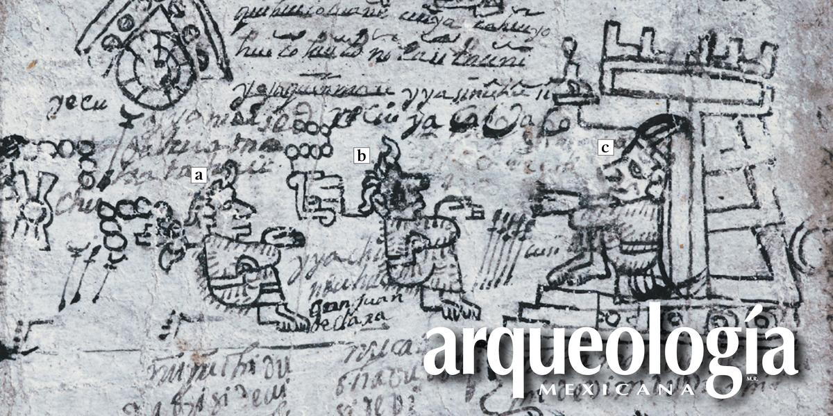 Representaciones arqueológicas en el Códice de Ñunaha