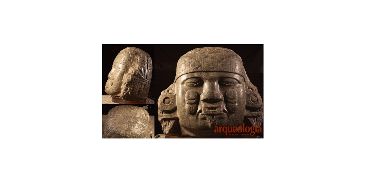 Una cabeza de Coyolxauhqui